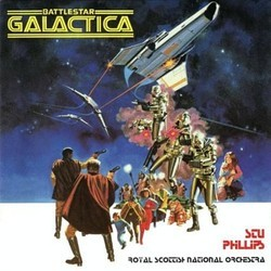 Battlestar Galactica Soundtrack (Glen A. Larson, Stu Phillips) - Car�tula