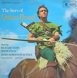 The Story of Robin Hood Soundtrack  (George Wyle) - Car�tula