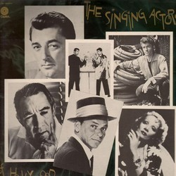 The Singing Actors of Hollywood Soundtrack (Various Artists) - Car�tula