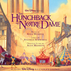 The Hunchback of Notre Dame Soundtrack (Alan Menken) - Car�tula