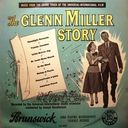 The Glenn Miller Story Soundtrack (Various Artists, Glenn Miller) - Car�tula