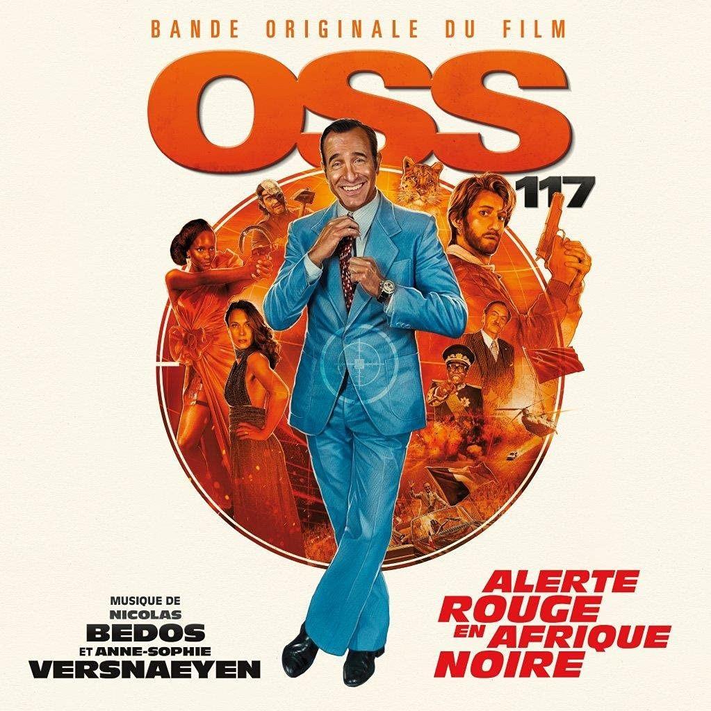 Film Music Site (Español) - OSS 117: Alerte Rouge en Afrique Noire  Soundtrack (Nicolas Bedos, Anne-Sophie Versnaeyen ) - Milan Records, Sony  Masterworks (2021) - Milan Records Black Vinyl