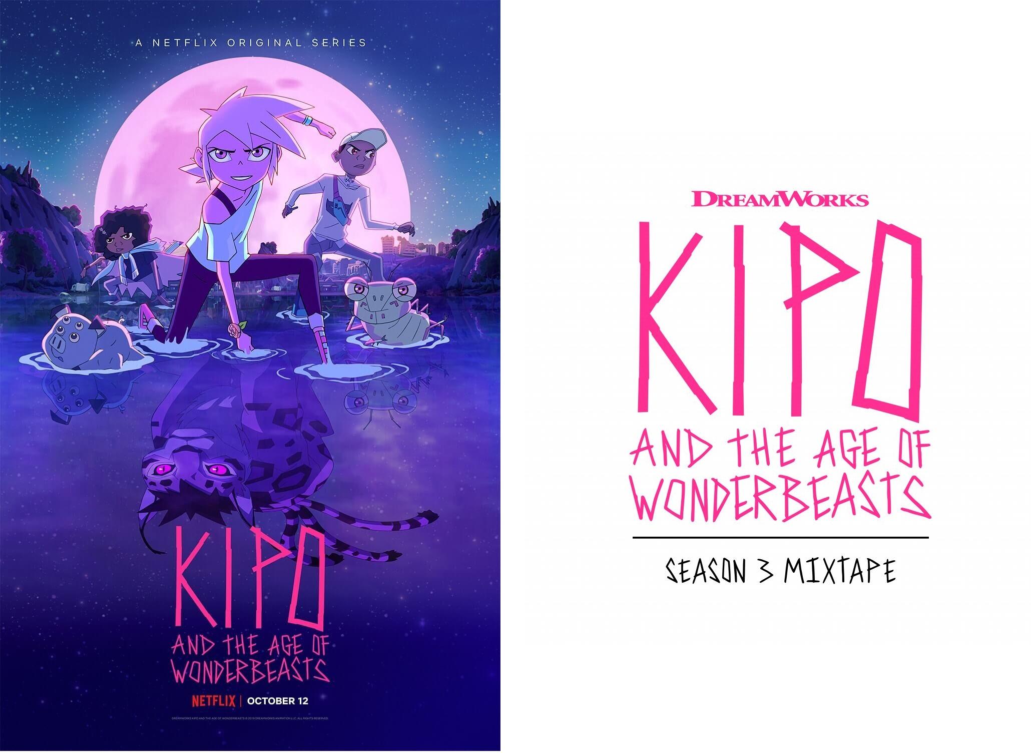 Kipo et l'âge des Animonstres Saison 3 (Kipo and the Age of Wonderbeasts)