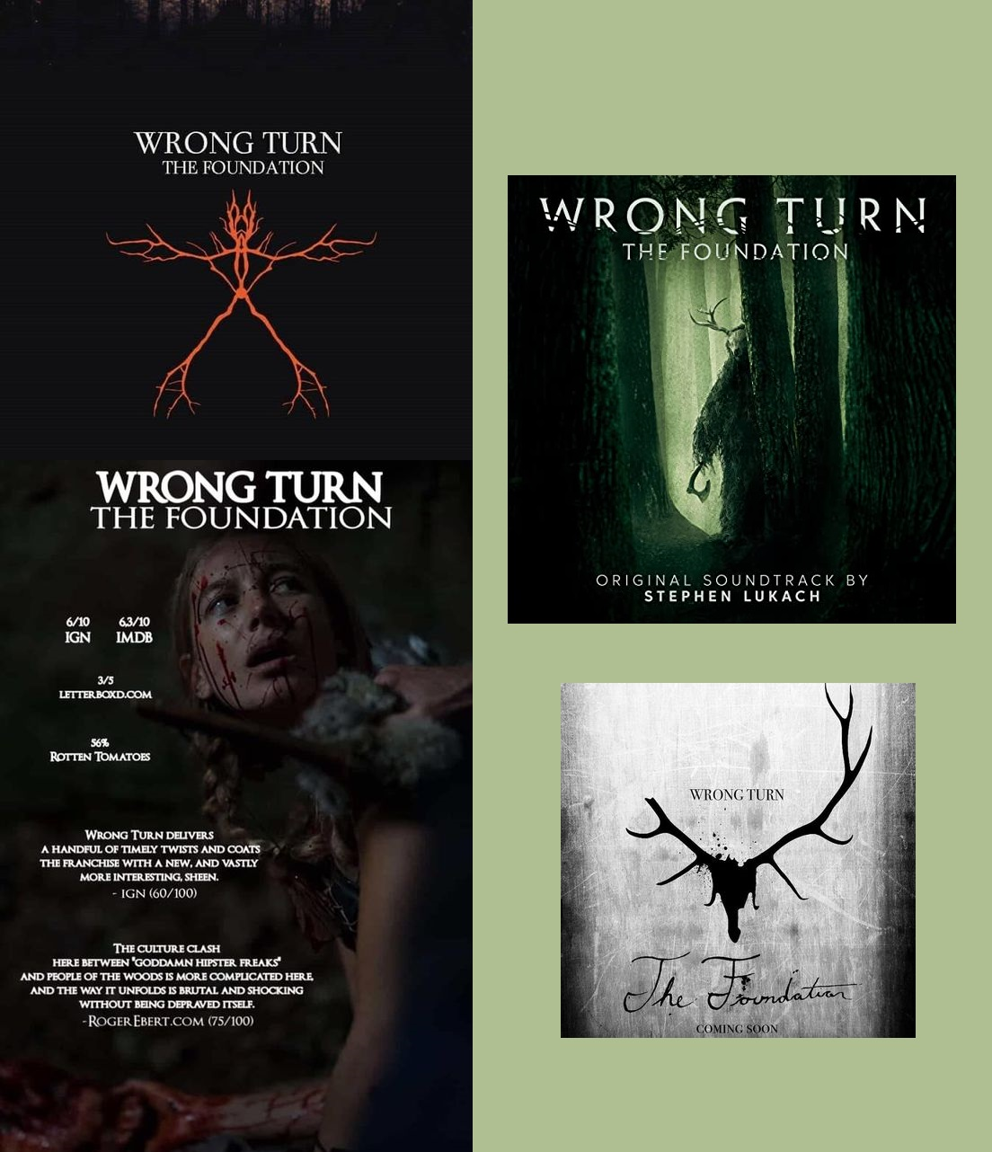 Détour mortel (2021) (Wrong Turn: The Foundation)