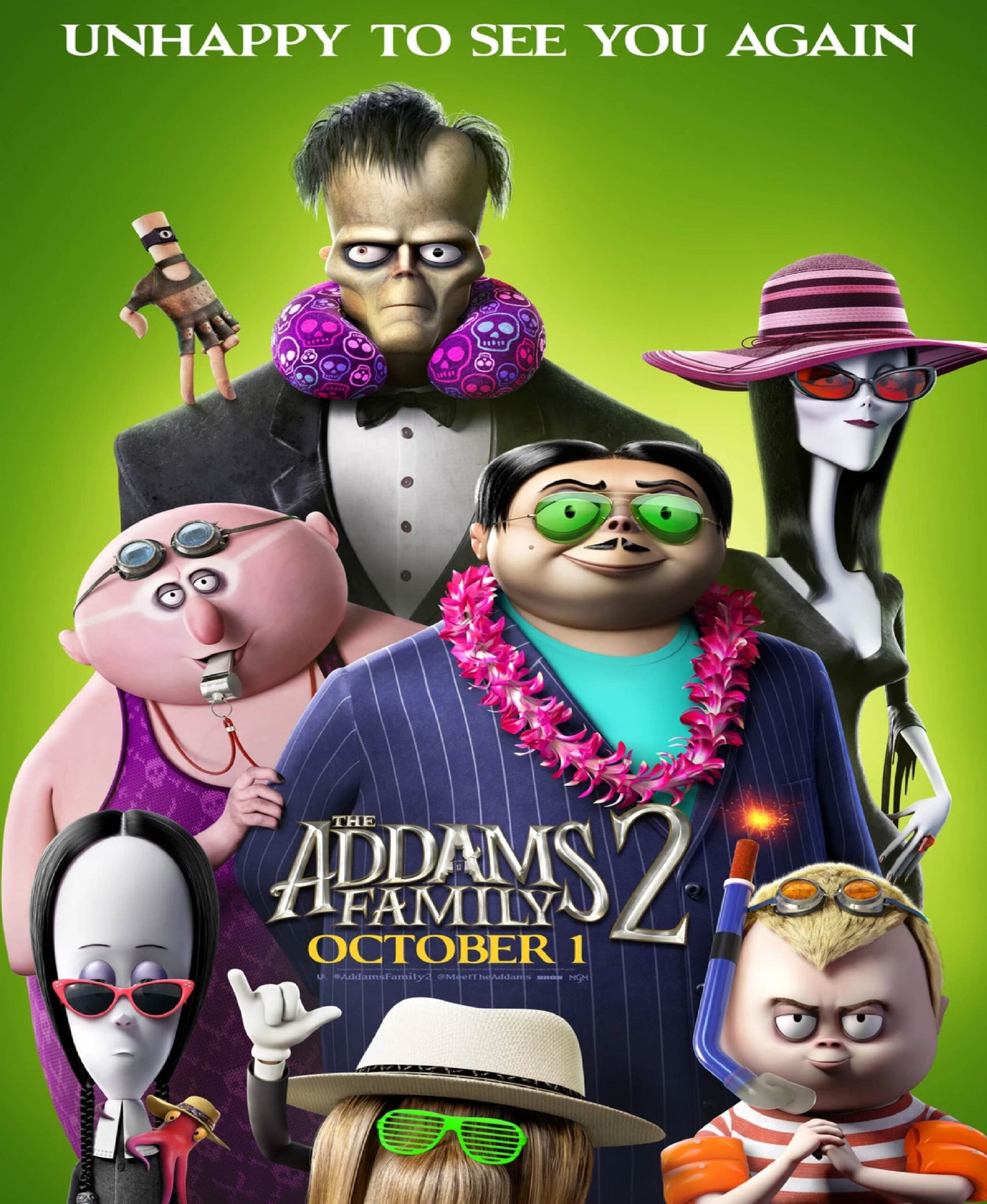 The Addams Family 2 (Songs) - La Famille Addams 2 : Une virée d'enfer
