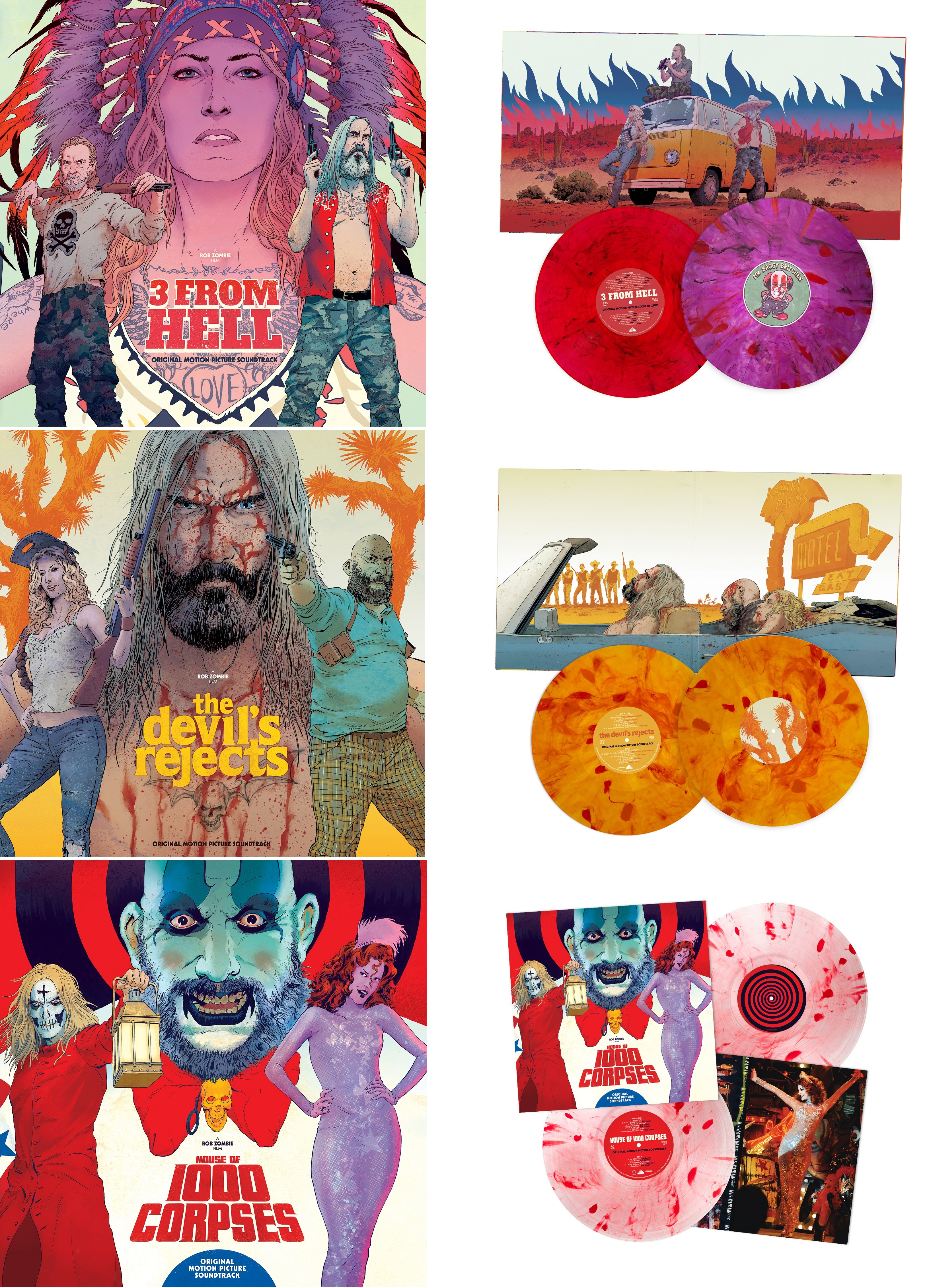 3 From Hell - House Of 1000 Corpses - The Devil's Rejects