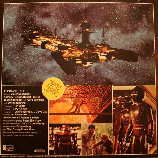Film Music Site - The Story of The Black Hole Soundtrack ...