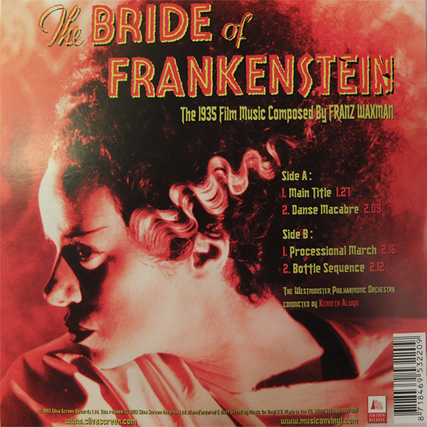Film Music Site - The Bride of Frankenstein Soundtrack
