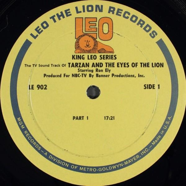 Film Music Site - The TV Sound Track of Tarzan Soundtrack