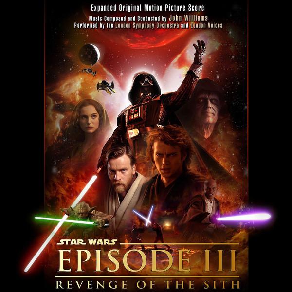 Film Music Site Star Wars Episode Iii Revenge Of The Sith Soundtrack John Williams 2005 Complete