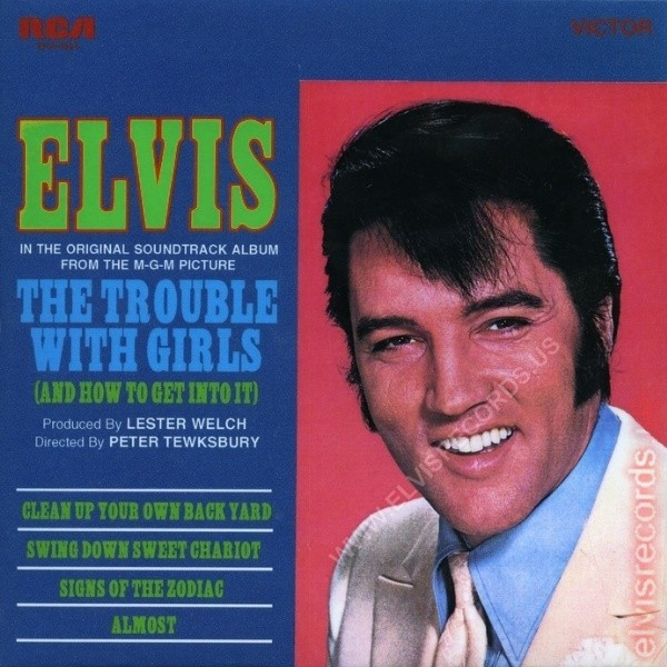 Film Music Site The Trouble With Girls Soundtrack Elvis
