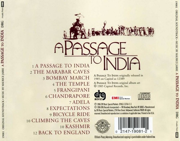 A PASSAGE TO INDIA Essay