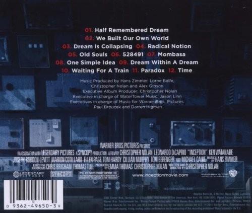 Dream Kitchen Hans Zimmer: Inception Soundtrack (Hans Zimmer