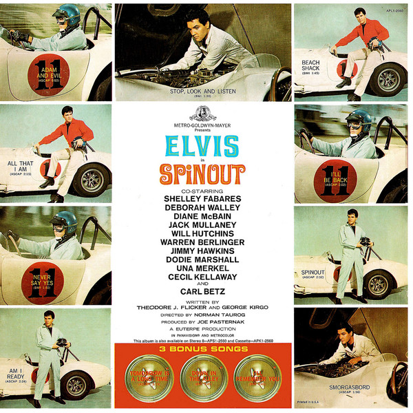 Image result for elvis spinout