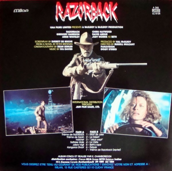 Razorback (1984) review – Rare Horror