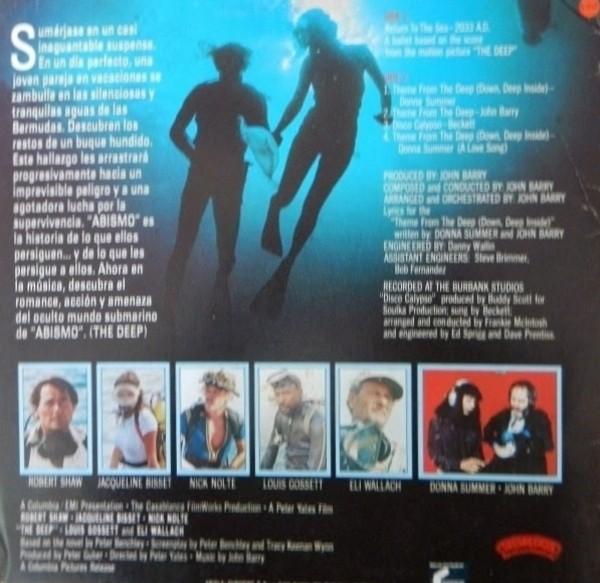 Film Music Site Abismo Soundtrack John Barry Donna