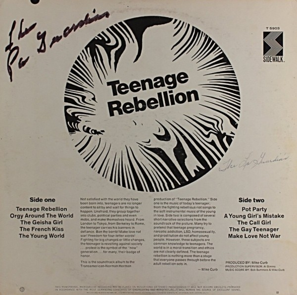 Rebellion teens