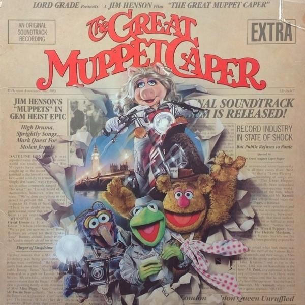 Film Music Site The Great Muppet Caper Soundtrack