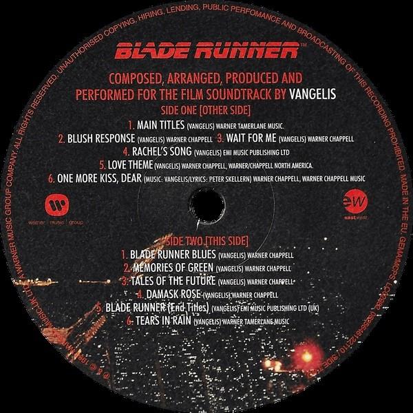 film music site blade runner soundtrack vangelis