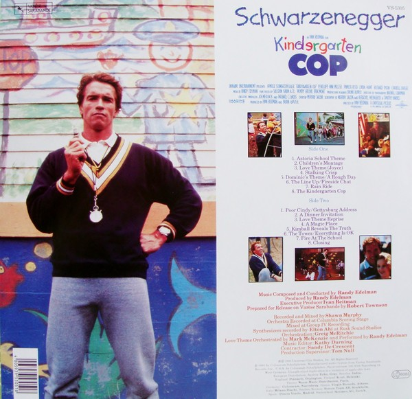 Film Music Site Kindergarten Cop Soundtrack Randy