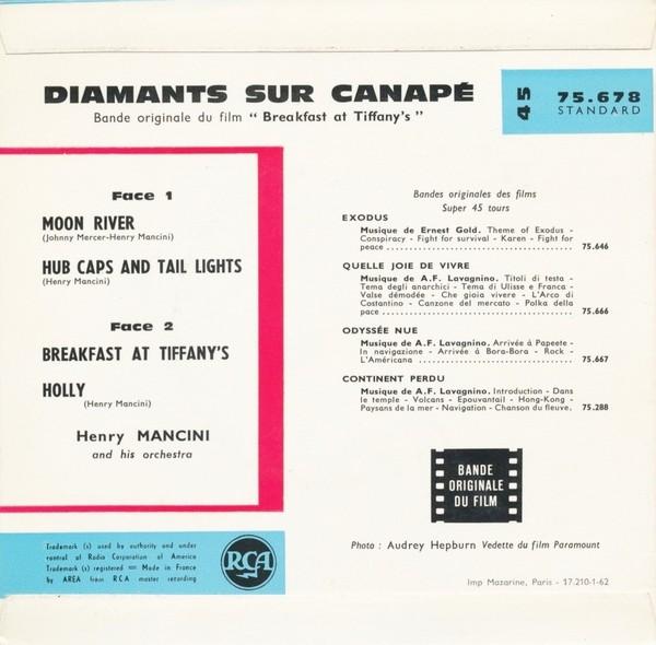 Film music site diamants sur canap soundtrack henry for Diamant sur canape