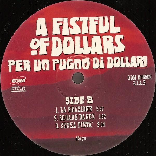 Phrase something Fist full of dollars soundtrack