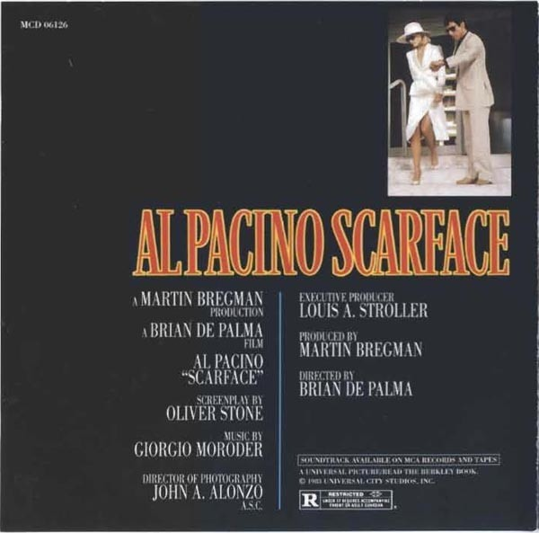 Film Music Site - Scarface Soundtrack (Various Artists