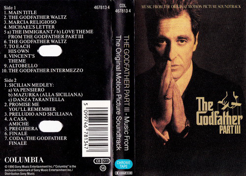 Film Music Site - The Godfather: Part III Soundtrack