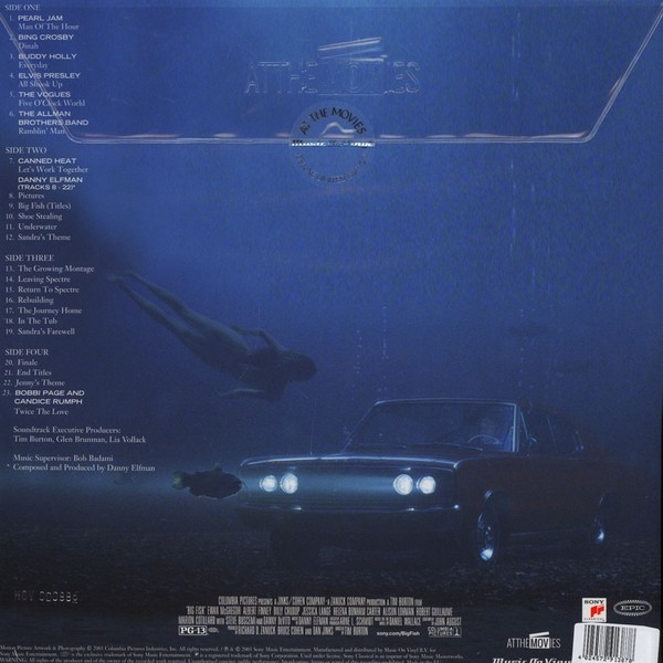 Film music site the big fish soundtrack evan emge for Big fish soundtrack