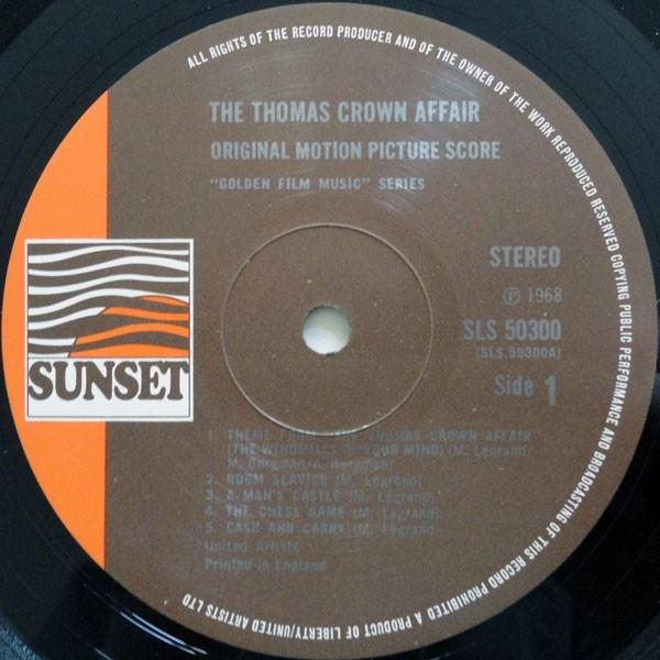 Film Music Site The Thomas Crown Affair Soundtrack