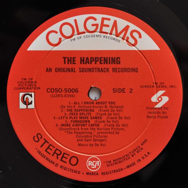 Film Music Site - The Happening Soundtrack (Frank DeVol