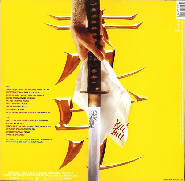 Film Music Site - Kill Bill Vol. 1 Soundtrack (Various ...