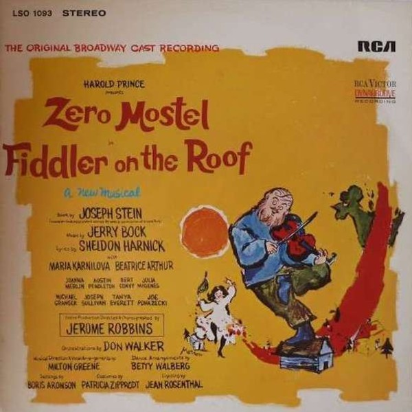 Film Music Site Fiddler On The Roof Soundtrack Jerry