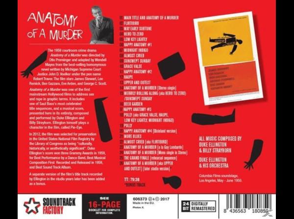 Film Music Site - Anatomy of a Murder Soundtrack (Duke Ellington ...
