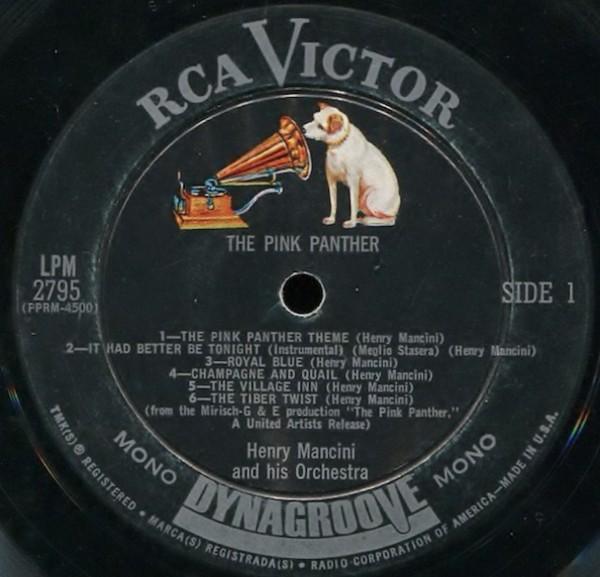 Film Music Site (Français) - The Pink Panther Bande Originale (Henry  Mancini) - RCA Victor (1963)