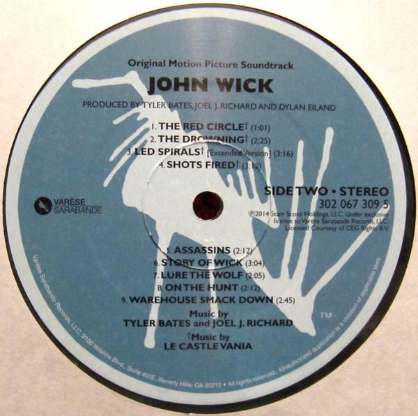 Film Music Site - John Wick Soundtrack (Tyler Bates, Joel J