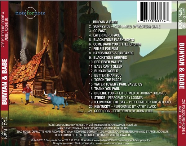 Film Music Site - Bunyan and Babe Soundtrack (Zoë Poledouris