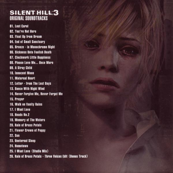 Film Music Site Silent Hill 3 Soundtrack Akira Yamaoka