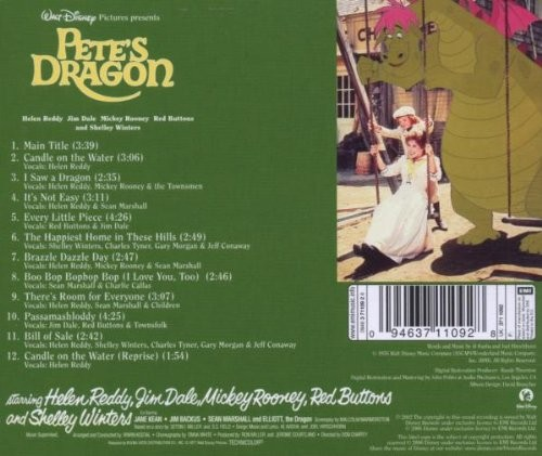 film music site   pete s dragon soundtrack various