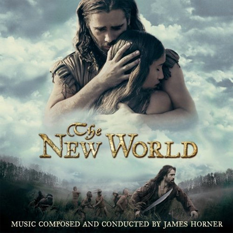 The New World Soundtrack (James Horner) - CD cover