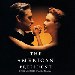 The American President Soundtrack (Marc Shaiman) - CD cover