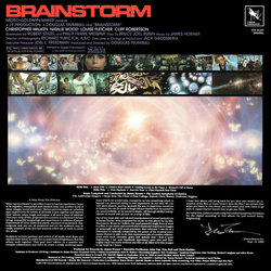 Brainstorm Soundtrack (James Horner) - CD Back cover