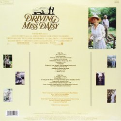 Driving Miss Daisy Soundtrack (Various Artists, Hans Zimmer) - CD Back cover