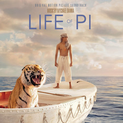 Life of Pi Soundtrack (Mychael Danna) - CD cover
