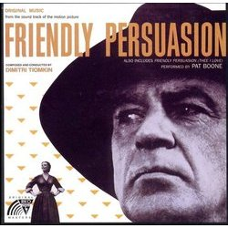 Friendly Persuasion Soundtrack (Dimitri Tiomkin) - CD cover