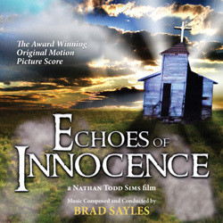 Echoes of Innocence Soundtrack (Brad Sayles) - CD cover