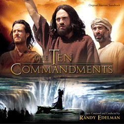 The Ten Commandments Soundtrack (Randy Edelman) - CD cover