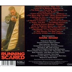 Running Scared Soundtrack (Mark Isham) - CD Achterzijde