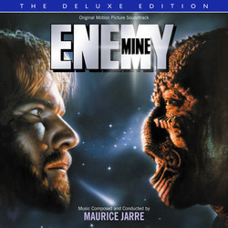 Enemy Mine Soundtrack (Maurice Jarre) - CD cover