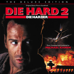 Die Hard 2: Die Harder Soundtrack (Michael Kamen) - CD cover